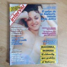 Coleccionismo de Revista Interviú: INTERVIU Nº 670 DEL 14 AL 20 DE MARZO 1989 MADONNA DESNUDA. Lote 288046818