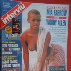 Coleccionismo de Revista Interviú: INTERVIU REVISTA Nº 1086 - 02-1997 - MIA FARROW CONTRA WOODY ALLEN - ZULEMA PORTADA. Lote 288226198