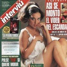 Coleccionismo de Revista Interviú: INTERVIU Nº 1068, BEATRIZ RICO, SARA SANDERS, DREW BARRYMORE. Lote 289214488