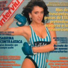 Coleccionismo de Revista Interviú: INTERVIU Nº 651 SABRINA SALERNO,. Lote 289515458