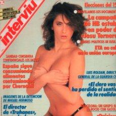 Coleccionismo de Revista Interviú: INTERVIU Nº 683 SABRINA SALERNO. Lote 289515578