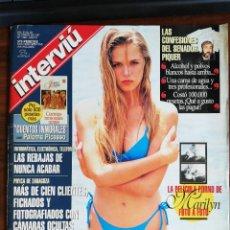 Coleccionismo de Revista Interviú: INTERVIU Nº 1082 AÑO 1997. PORTADA: SUSANA WERNER NOVIA DE RONALDO. MARILYN LA PELICULA PORN. Lote 289602373