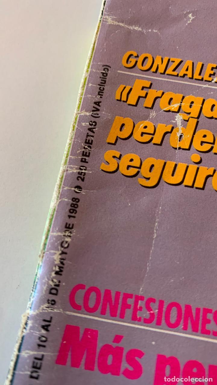 Coleccionismo de Revista Interviú: REVISTA INTERVIU Nº 626 MAYO 1988 SILVIA RODRIGUEZ EL LUTE II - Foto 2 - 290115563