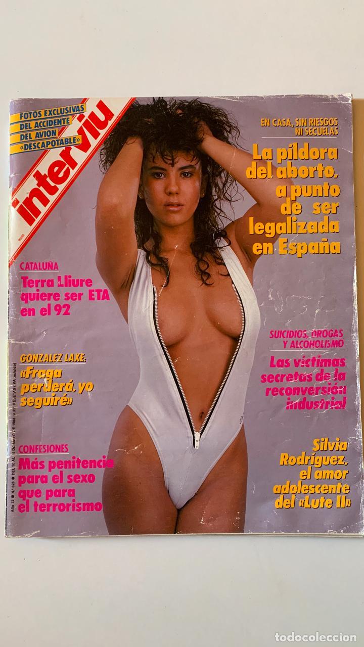 REVISTA INTERVIU Nº 626 MAYO 1988 SILVIA RODRIGUEZ EL LUTE II (Coleccionismo - Revistas y Periódicos Modernos (a partir de 1.940) - Revista Interviú)
