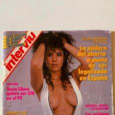 Coleccionismo de Revista Interviú: REVISTA INTERVIU Nº 626 MAYO 1988 SILVIA RODRIGUEZ EL LUTE II. Lote 290115563