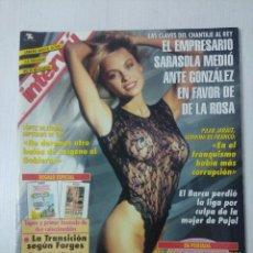 Coleccionismo de Revista Interviú: REVISTA INTERVIU/PAMELA ANDERSON.. Lote 295511863