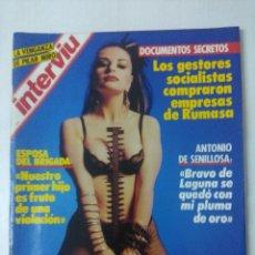Coleccionismo de Revista Interviú: REVISTA INTERVIU/ALASKA.. Lote 295512308