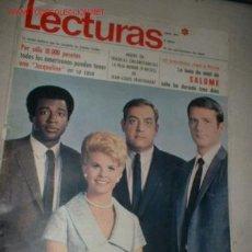 Coleccionismo de Revistas: REVISTA -LECTURAS- AÑO 1969. EN PORTADA GRUPO IRONSIDE, LUNA DE MIEL DE SALOME,. Lote 693454