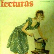 Coleccionismo de Revistas: LECTURAS Nº 299. SEPTIEMBRE 1948. INCLUYE LA CINE-NOVELA EL ENMASCARADO CON YVONNE DE CARLO. Lote 17624103