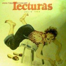 Coleccionismo de Revistas: LECTURAS Nº 297. JULIO 1948. INCLUYE LA CINE-NOVELA PASIÓN INMORTAL CON KATHERINE HEPBURN. Lote 20329026