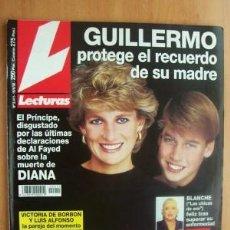 Coleccionismo de Revistas: LECTURAS Nº2411 FECHA 19/6/98 EN PORTADA- GUILLERMO PROTEGE EL RECUERDO DE SU MADRE (7 PÁGINAS). Lote 15224681