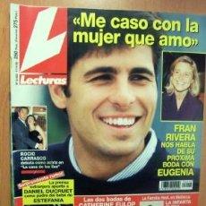 Coleccionismo de Revistas: LECTURAS Nº 2402 FECHA 17/4/98 EN PORTADA- ME CASO CON LA MUJER QUE AMO (4 PÁGINAS). Lote 22495393