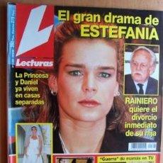 Coleccionismo de Revistas: LECTURAS Nº 2320 FECHA 20/9/96 EN PORTADA- EL GRAN DRAMA DE ESTEFANIA (4 PÁGINAS). Lote 15255363
