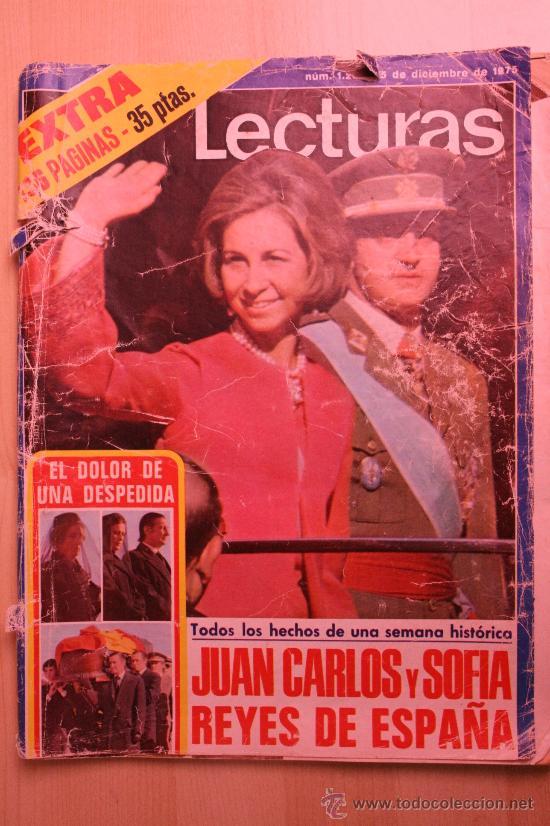 REVISTA LECTURAS. NUM. 1283. 5 DE DICIEMBRE DE 1975. MUERTE DE FRANCO (Coleccionismo - Revistas y Periódicos Modernos (a partir de 1.940) - Revista Lecturas)