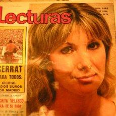Coleccionismo de Revistas: REVISTA LECTURAS 1 SEPTIEMBRE 1972 MARISOL-SERRAT-RAPHAEL-CONCHITA VELASCO. Lote 26396081