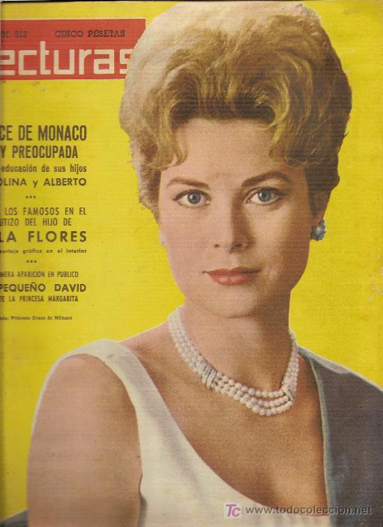LECTURAS Nº513 DEL AÑO15-12-1961--TODOS LOS FAMOSOS EN EL BAUTIZO DEL HIJO DE LOLA FLORES (Coleccionismo - Revistas y Periódicos Modernos (a partir de 1.940) - Revista Lecturas)