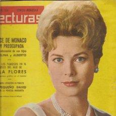 Coleccionismo de Revistas: LECTURAS Nº513 DEL AÑO15-12-1961--TODOS LOS FAMOSOS EN EL BAUTIZO DEL HIJO DE LOLA FLORES. Lote 26360852
