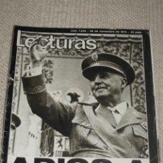 Coleccionismo de Revistas: LECTURAS Nº 1232 DE 28 DE NOVIEMBRE DE 1975. FRANCO, CAMILO SESTO, JUNIOR, BLANCA ESTRADA, MARISOL. Lote 26456413