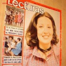 Coleccionismo de Revistas: REVISTA - LECTURAS - Nº 1275 SEPTIEMBRE 1976. EN PORTADA CONCHA VELASCO.. Lote 5458618