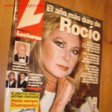 Coleccionismo de Revistas: REVISTA - LECTURAS Nº 2534 27-10-2000 . EN PORTADA:ROCIO JURADO, ADIOS CHANQUETE.. Lote 2812536