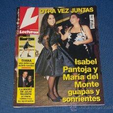 Coleccionismo de Revistas: REVISTA LECTURAS Nº 2277 DEL 24/11/1995. Lote 20571070