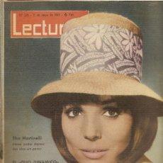 Coleccionismo de Revistas: REVISTA LECTURAS Nº578,-MAYO DE 1963. Lote 26314920