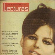Coleccionismo de Revistas: REVISTA LECTURAS Nº561,-ENERO DE 1963 CLAUDIA CARDINALES. Lote 23912119