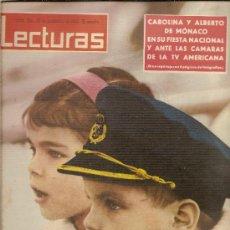 Coleccionismo de Revistas: REVISTA LECTURAS Nº554,-NOVIEMBRE DE 1962. Lote 25988228
