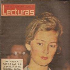 Coleccionismo de Revistas: REVISTA LECTURAS Nº530,-JUNIO DE 1962. Lote 27467982