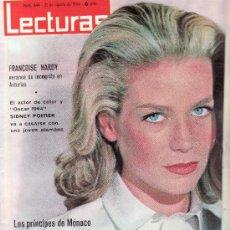 Coleccionismo de Revistas: LECTURAS.Nº 644-AGOSTO 1964.REVISTA ORIGINALES,ESTA Y MAS EN RASTRILLOPORTOBELLO. Lote 208293235