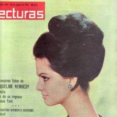 Coleccionismo de Revistas: CLAUDIA CARDINALE-LECTURAS.Nº 645-AGOSTO 1964.REVISTA ORIGINALES,ESTA Y MAS EN RASTRILLOPORTOBELLO. Lote 24728352