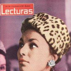 Coleccionismo de Revistas: REINA FARAH DE PERSIA- LECTURAS.Nº 556-DIC.1962 REVISTA ORIGINALES,ESTA Y MAS EN RASTRILLOPORTOBELLO. Lote 24424564