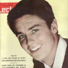 Coleccionismo de Revistas: ALAIN DELON EN PORTADA LECTURAS.Nº 555-DIC.1962 REVISTA ORIGINALES,ESTA Y MAS EN RASTRILLOPORTOBELLO. Lote 33492366
