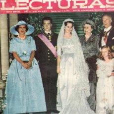 Coleccionismo de Revistas: LECTURAS.Nº 455 JULIO 1959-REVISTA ORIGINALES,ESTA Y MAS EN RASTRILLOPORTOBELLO. Lote 26419663