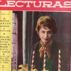 Coleccionismo de Revistas: LECTURAS Nº 441-DICIEMBRE 1958.SOFIA LOREN. COLECCIONISMO EN GENERAL EN RASTRILLOPORTOBELLO. Lote 26016579