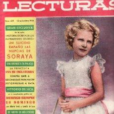 Coleccionismo de Revistas: LECTURAS Nº 439-NOVIEMBRE 1958.COLECCIONISMO EN GENERAL EN RASTRILLOPORTOBELLO. Lote 26222165