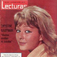 Coleccionismo de Revistas: LECTURAS Nº 660 AÑO 1964..MAS COLECCIONISMO DESDE TENERIFE- VEA RASTRILLOPORTOBELLO. Lote 26206655