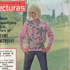 Coleccionismo de Revistas: LECTURAS Nº 736 AÑO 1966..MAS COLECCIONISMO DESDE TENERIFE- VEA RASTRILLOPORTOBELLO. Lote 23991662