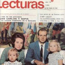 Coleccionismo de Revistas: LECTURAS Nº 776-1967 REVISTAS,POSTALES,PROGRAMAS DE CINE Y MAS EN RASTRILLOPORTOBELLO-EN TENERIFE. Lote 23708189