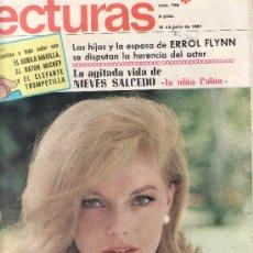 Coleccionismo de Revistas: LECTURAS Nº 796-1967 REVISTAS,POSTALES,PROGRAMAS DE CINE Y MAS EN RASTRILLOPORTOBELLO-EN TENERIFE. Lote 24635686