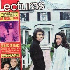 Coleccionismo de Revistas: LECTURAS Nº 1.103-JUNIO 1973.DESDE TENERIFE -COLECCIONISMO EN GENERAL EN RASTRILLOPORTOBELLO. Lote 24942815