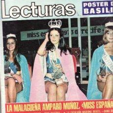 Coleccionismo de Revistas: LECTURAS Nº 1.116-SEPTIEMBRE 1973.DESDE TENERIFE -COLECCIONISMO EN GENERAL EN RASTRILLOPORTOBELLO. Lote 27969626