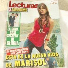 Coleccionismo de Revistas: MARISOL,REVISTA LECTURAS,AÑO 1972. Lote 21203330