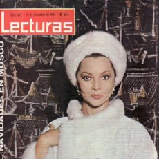 Coleccionismo de Revistas: LECTURAS-Nº662 DICIEMBRE1964-SARA MONTIEL EN MOSCU-COLECCIONISMO DESDE TENERIFE RASTRILLOPORTOBELLO. Lote 25275268