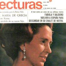 Coleccionismo de Revistas: LECTURAS-Nº820 ENERO1968--COLECCIONISMO DESDE TENERIFE EN RASTRILLOPORTOBELLO. Lote 25528272