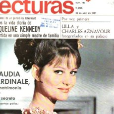 Coleccionismo de Revistas: LECTURAS-Nº784 ABRIL1967--COLECCIONISMO DESDE TENERIFE EN RASTRILLOPORTOBELLO. Lote 26593620