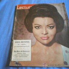 Coleccionismo de Revistas: REVISTA LECTURAS - MAYO 1963 Nº 577 - SARA MONTIEL FRANCO REALEZA JOSE ISBERT. Lote 36743297