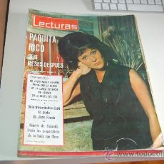 Coleccionismo de Revistas: PAQUITA RICO, PACO RABAL, LITA TORELLÓ, JANE FONDA, SYLVIE VARTAN. Lote 199526183