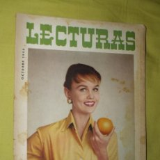 Coleccionismo de Revistas: REVISTA LECTURAS OCTUBRE 1955. Lote 18057152