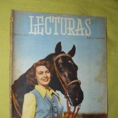 Coleccionismo de Revistas: REVISTA LECTURAS JUNIO 1955. Lote 18057172